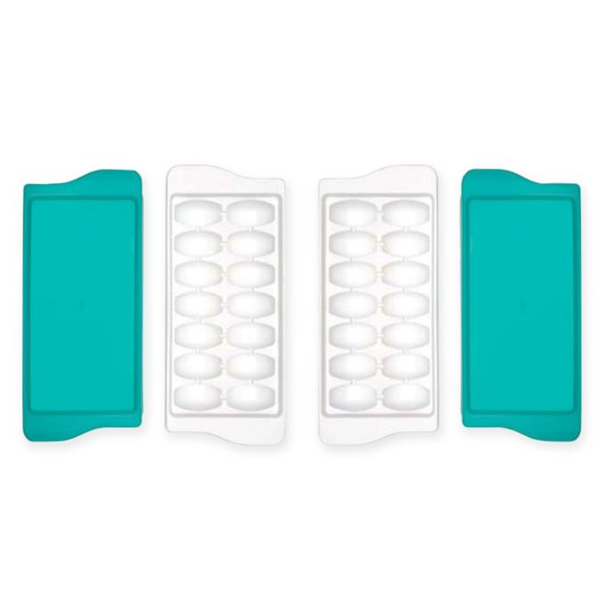 OXO Tot Baby Food Freezer Trays in Teal (Set of 2)