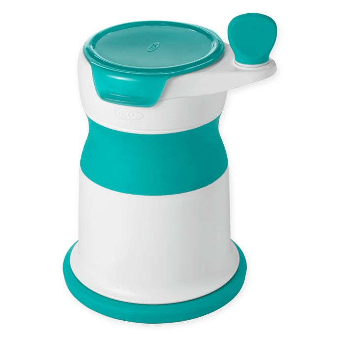 OXO Tot Mash Maker Baby Food Mill in Teal