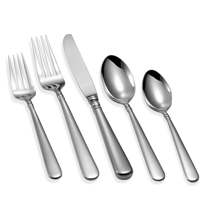 Lenox Pearl Platinum 5-Piece Flatware Place Setting