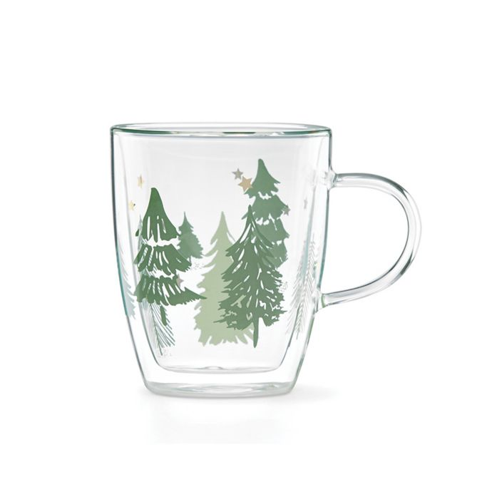Lenox Balsam Lane Glass Mugs (Set of 4)