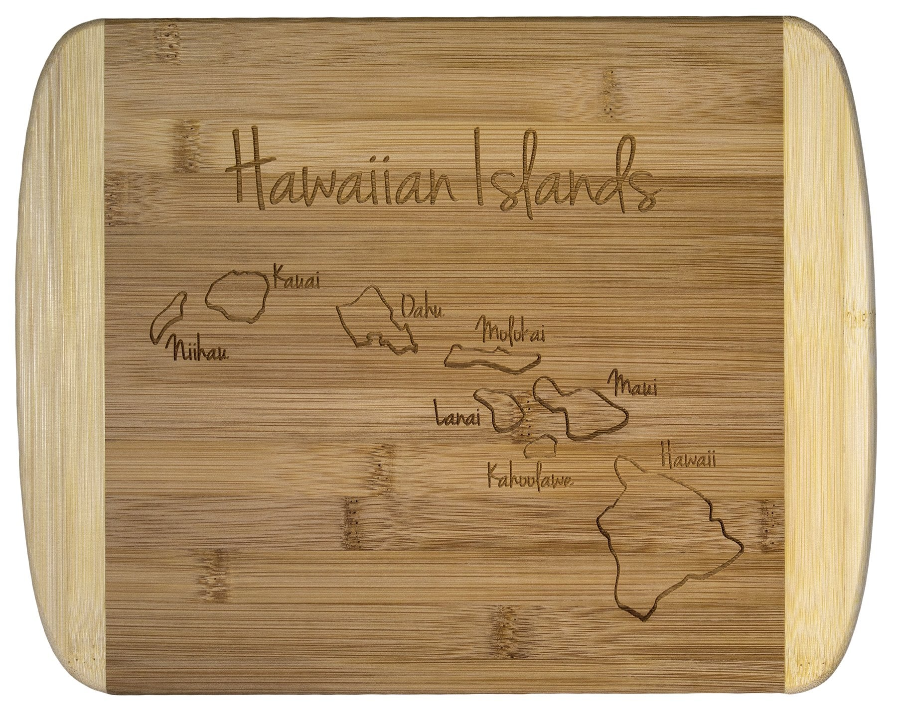 Totally Bamboo 11 2-Tone Board Hawaiian Islands