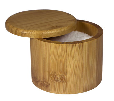 Totally Bamboo Round Salt Box