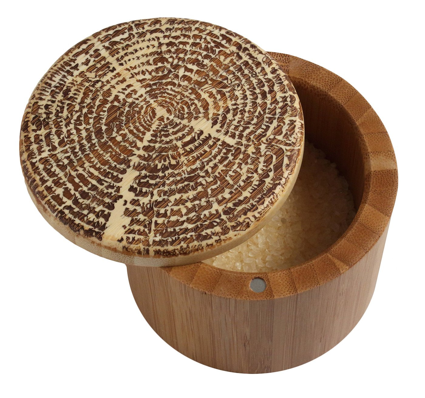 Totally Bamboo Salt Box - Tree Of Life