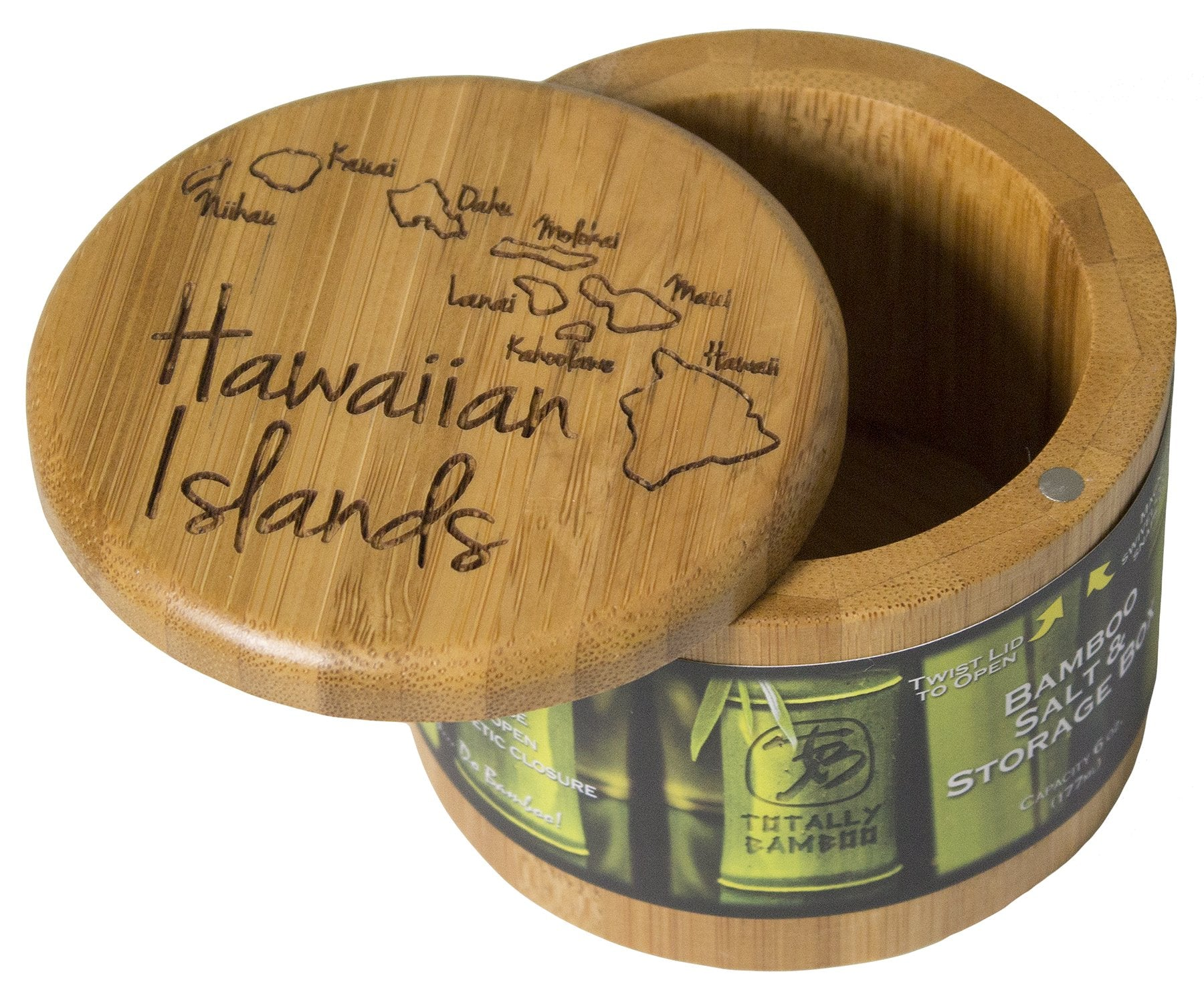 Totally Bamboo Salt Box Hawaiian Islands