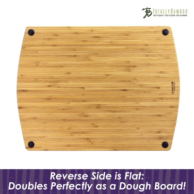 Totally Bamboo GreenLite Splash Series 17 Dishwasher-Safe Cutting & Carving Board