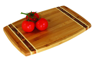 Totally Bamboo 15 Marbled Bamboo Cutting Board