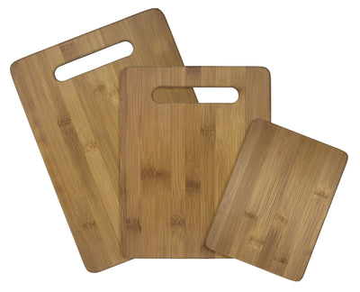 Totally Bamboo Bamboo Cutting Board 3pc Set