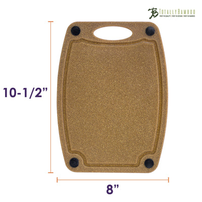 Totally Bamboo Montecito Series 10-1/2 Bamboo/Poly Composite Cutting Board