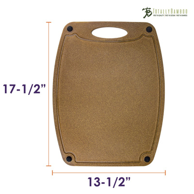 Totally Bamboo Montecito Series 17-1/2 Bamboo/Poly Composite Cutting Board
