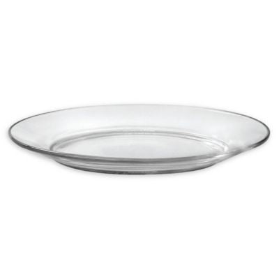 Duralex Lys Clear Tempered Glass Dessert Plates (Set of 4)