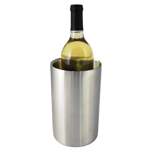 True Fabrications Stainless Steel Wine Chiller