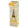True Fabrications Eiffel Tower - Illustrated Wine Bag