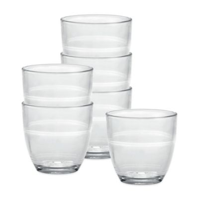 Duralex Gigogne 5 3/4-Ounce Glasses (Set of 6)