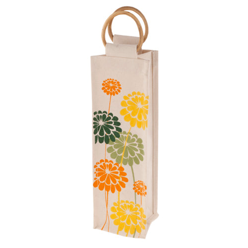 True Fabrications Daisies Jute Bag