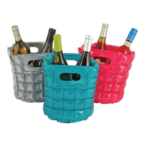 True Fabrications Assorted Inflatable 2-Bottle Cooler