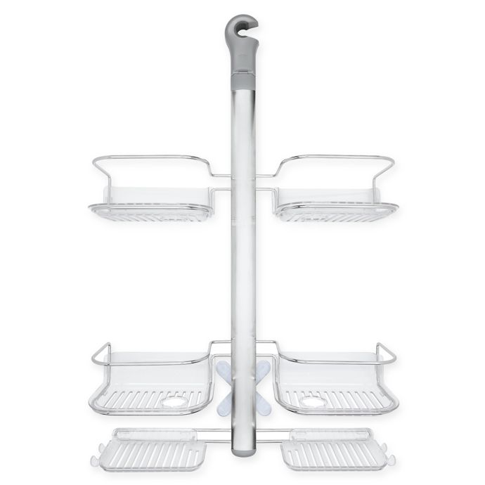OXO Good Grips Stainless Steel Hose Keeper Shower Caddy