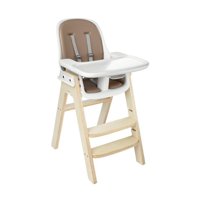 OXO Tot Sprout High Chair in Taupe/Birch