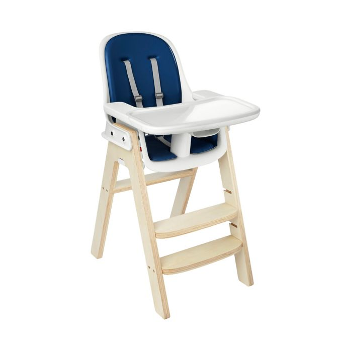 OXO Tot Sprout High Chair in Navy/Birch