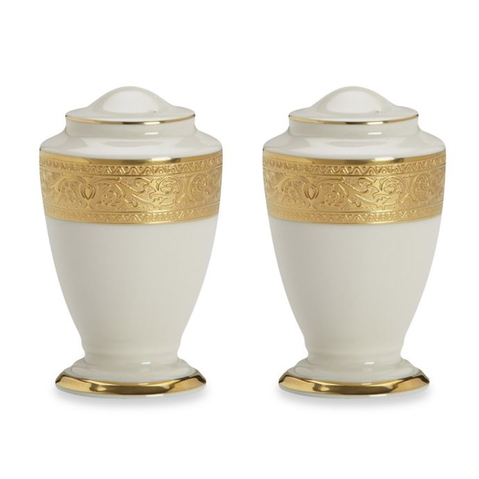Lenox Westchester Salt and Pepper Shakers