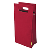 True Fabrications 2-Bottle Red Insulated Tote