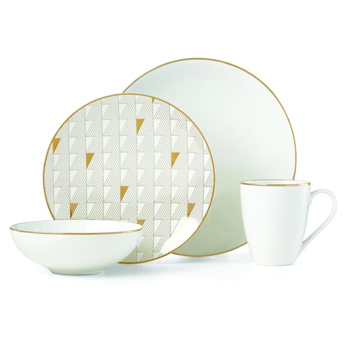 Lenox Trianna White 4-Piece Place Setting