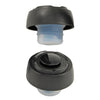 True Fabrications Black Vacuum Stopper Set