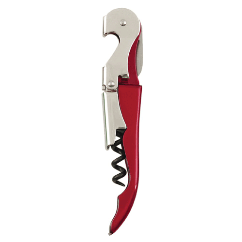 True Fabrications Truetap Double Hinge Waiterstyle Corkscrew- Metallic Red
