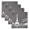 True Fabrications Parisian Coaster Set