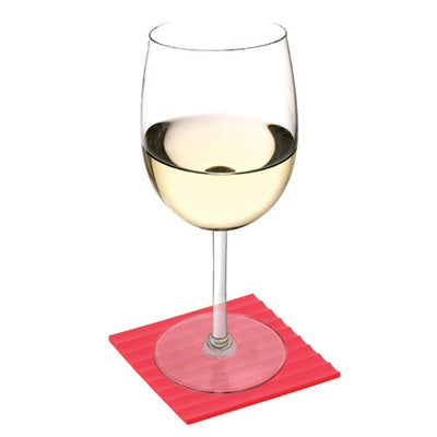True Fabrications Rainbow Wine Coasters