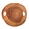 True Fabrications Wood Slice Cheese Board