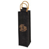 True Fabrications Midnight-1-Bottle Wine Bag