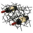 True Fabrications The Raven's Nest Wine Rack