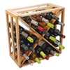 True Fabrications Crisscross Wine Rack