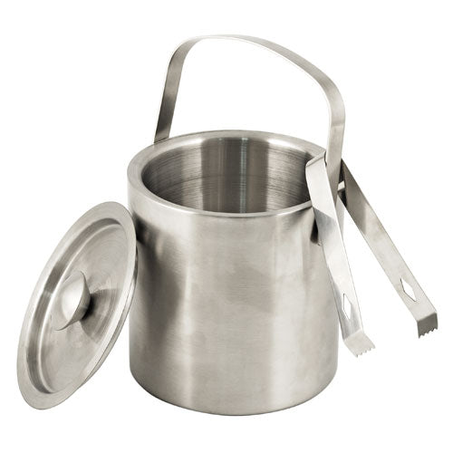 True Fabrications Classic Ice Bucket with Tongs
