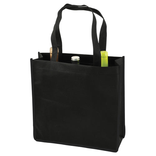 True Fabrications 3-Bottle Non-Woven Tote