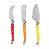 True Fabrications Sunnyside Enamel Cheese Knives