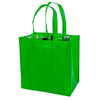True Fabrications 6-Bottle Green Non-Woven Tote