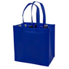 True Fabrications 6-Bottle Blue Non-woven Tote