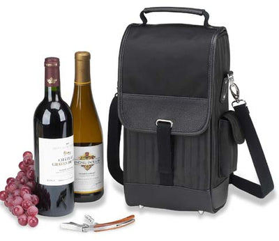 Picnic at Ascot New York Two Bottle Carrier