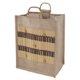True Fabrications Safari 6-Bottle Jute Bag
