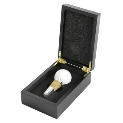 True Fabrications Golf Ball Stopper w/ Wooden Box