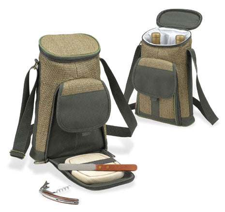 Picnic at Ascot Two Bottle Tote
