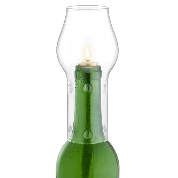 Glass Bottle Chimney- Clear