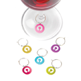 True Fabrications Silhouettes Wine Charms