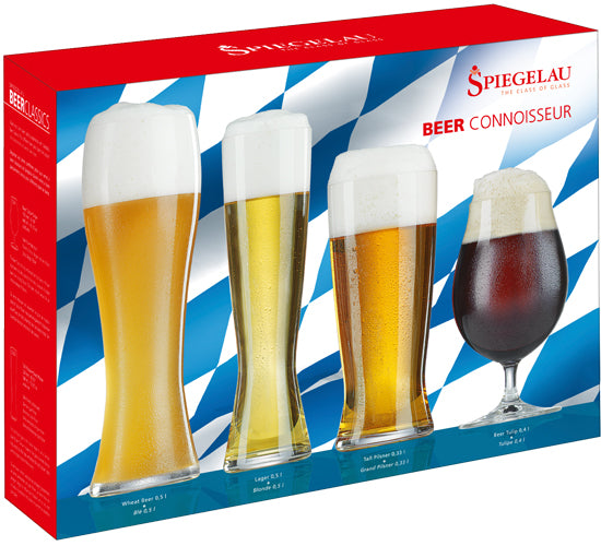 Spiegelau Classics Beer Connoisseur Gift Set (Set of 4)