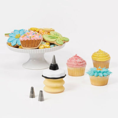 OXO Good Grips Bakers Silicone 4-Piece Decorating Bottle Kit