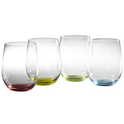 "Riedel ""O"" Series Happy Wine Glasses (Set of 4)"