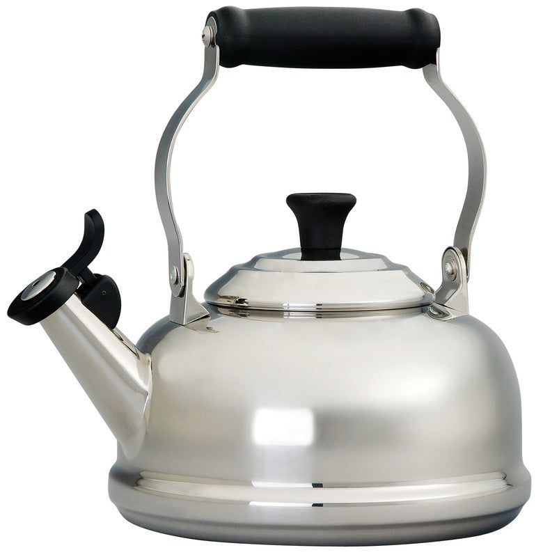 Le Creuset 1.7 Quart Stainless Steel Whistling Tea Kettle