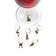True Fabrications Wine Connoisseur Wine Charms