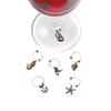True Fabrications Nautical Wine Charms